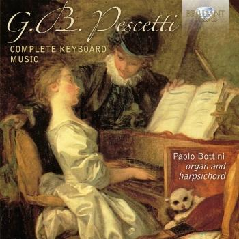 Cover Pescetti Complete Keyboard Music
