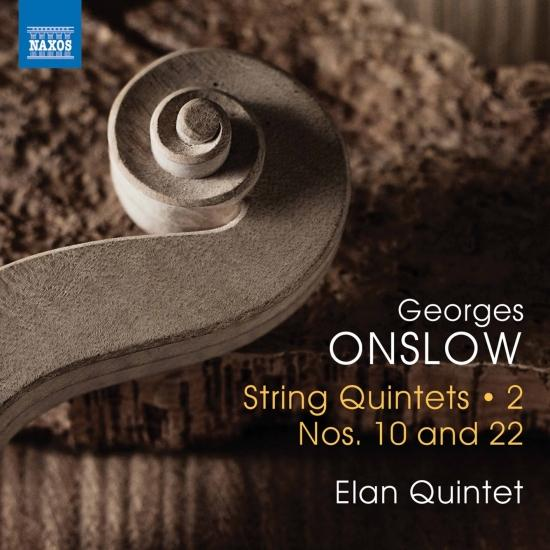 Cover Onslow: String Quintets, Vol. 2 – Nos. 10 & 22