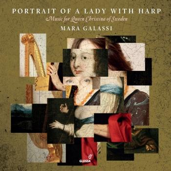 Cover Portait of a Lady with Harp