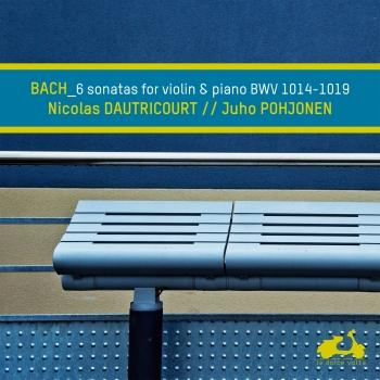 Cover Bach: 6 Sonatas for Violin and Piano, BWV 1014-1019