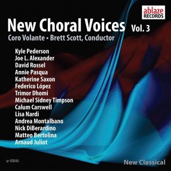 Cover New Choral Voices, Vol. 3