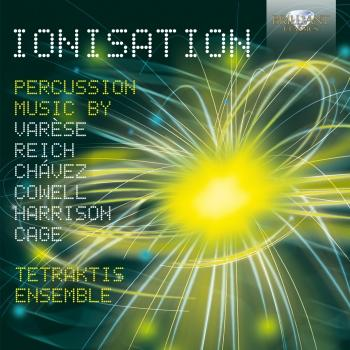 Cover Ionisation; Percussion Music