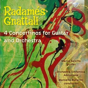 Cover Gnattali: 4 Concertinos for Guitar and Orchestra