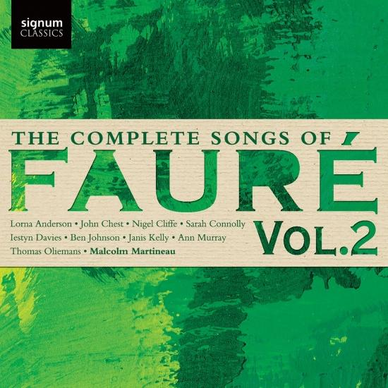 Cover The Complete Songs of Fauré, Vol. 2