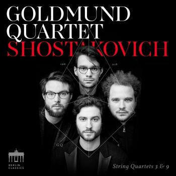 Cover Shostakovich String Quartets 3 & 9