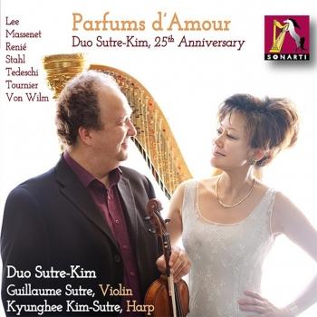 Cover Parfums d'Amour, Duo Sutre-Kim 25th Anniversary