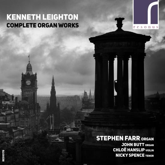 Cover Kenneth Leighton: Complete Organ Works