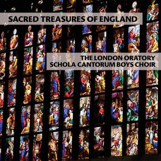 Cover Sacred Treasures of England