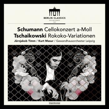 Cover Schumann: Cello Concerto in A Minor, Op. 129 - Tschaikowsky: Variations on a Rococo Theme, Op. 33