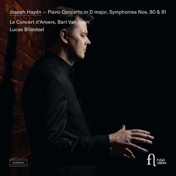 Cover Haydn: Piano Concerto in D major, Symphonies Nos. 80 & 81