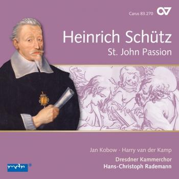 Cover Schütz: Johannespassion, SWV 481