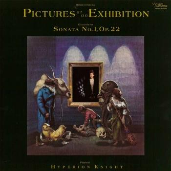 Cover Mussorgsky: Pictures at an Exhibition / Ginastera: Piano Sonata No. 1, Op. 22