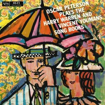 Cover Oscar Peterson Plays The Harry Warren And Vincent Youmans Song Books