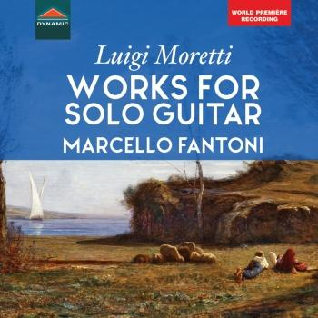 Cover Moretti: Works for Solo Guitar