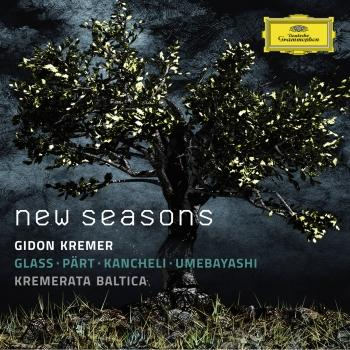 Cover New Seasons - Glass / Pärt / Kancheli / Umebayashi