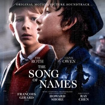Cover The Song of Names (Original Motion Picture Soundtrack)