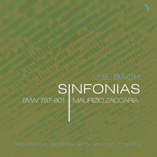 Cover J.S. Bach: Sinfonias