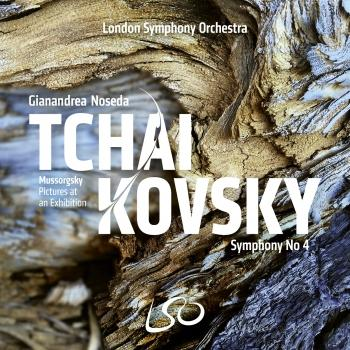 Cover Tchaikovsky: Symphony No. 4 - Mussorgsky: Pictures at an Exhibition