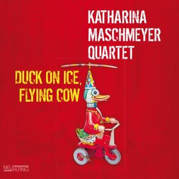 Cover Duck On Ice, Flying Cow