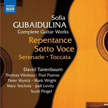 Cover Gubaidulina: Complete Guitar Works