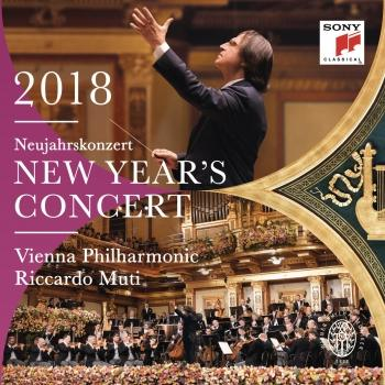 Cover New Year's Concert 2018 / Neujahrskonzert 2018 / Concert du Nouvel An 2018