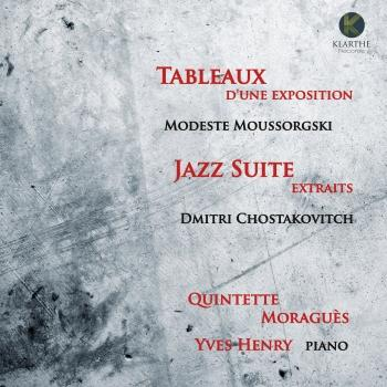 Cover Moussorgski: Tableaux d'une exposition - Chostakovitch: Jazz Suite