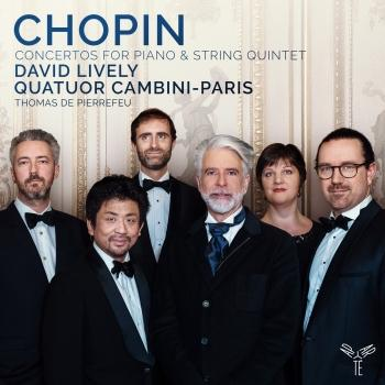 Cover Chopin: Concertos for Piano & String Quintet