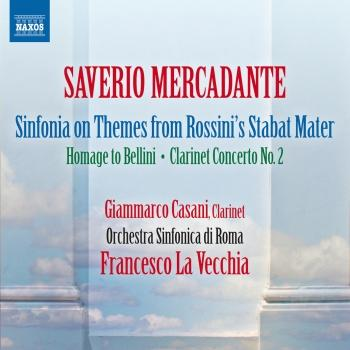 Cover Mercadante: Orchestral Works