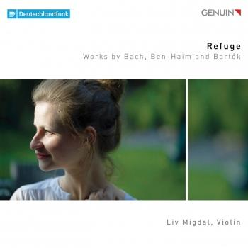Cover Refuge: Works by Bach, Ben-Haim & Bartók