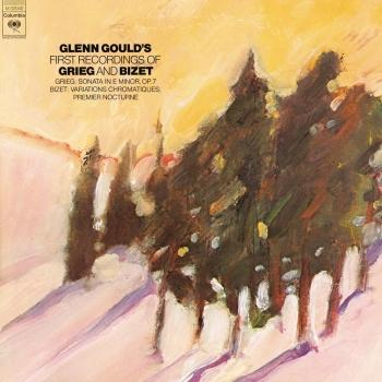 Cover Grieg: Piano Sonata, Op. 7 - Bizet: Nocturne & Variations Chromatiques (Remastered)