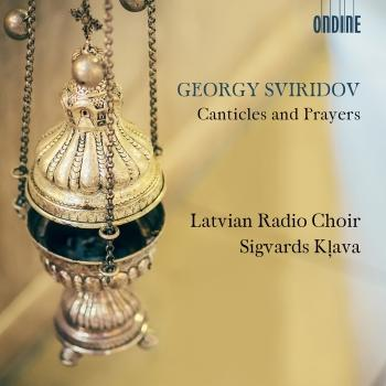 Cover Sviridov: Canticles & Prayers