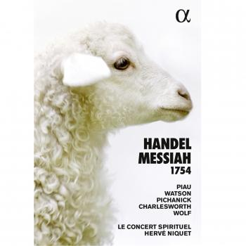 Cover Handel: Messiah, HWV 56 (1754 Version)