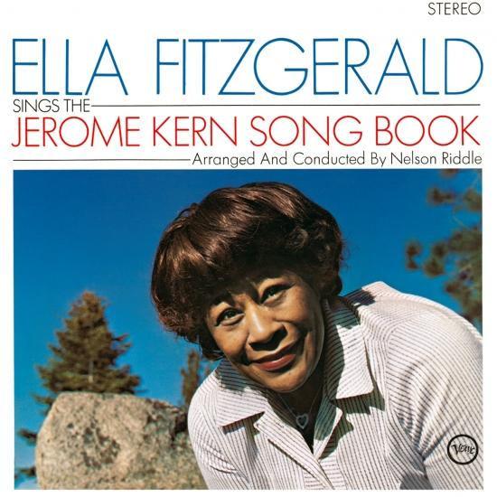 Cover Ella Fitzgerald Sings The Jerome Kern Song Book (Remastered)