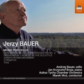 Cover Jerzy Bauer: Music for Cello