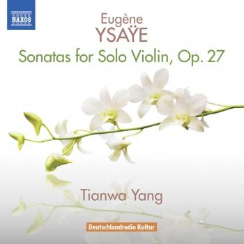 Cover Ysaÿe: 6 Sonatas for Solo Violin, Op. 27