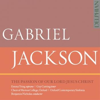 Cover Gabriel Jackson: The Passion of Our Lord Jesus Christ