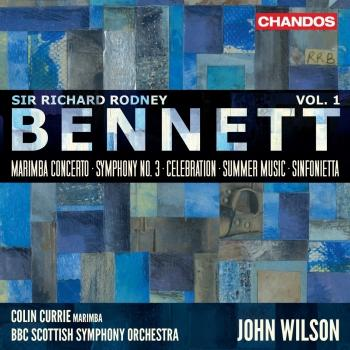 Cover Bennett: Orchestral Works, Vol 1