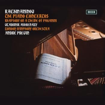 Cover Rachmaninov: The Piano Concertos; Rhapsody On A Theme Of Paganini