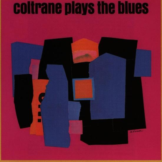 Cover Coltrane Plays The Blues