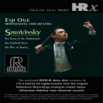Cover Stravinsky: The Song of the Nightingale, The Firebird Suite, The Rite of Spring
