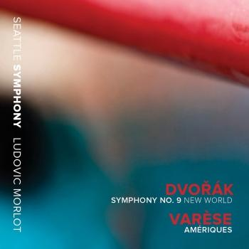 Cover Dvorak: Symphony No. 9 New World / Varèse: Amériques (Live)