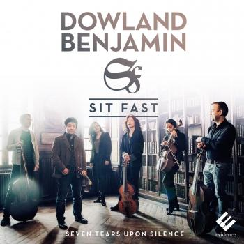 Cover Dowland & Benjamin: Seven Tears Upon Silence