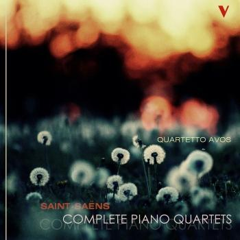Cover Saint-Saens: Complete Piano Quartets
