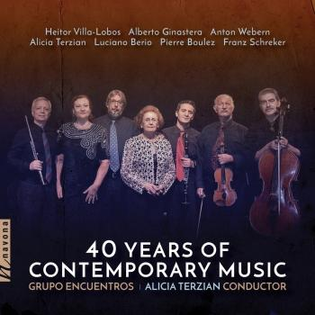 Cover 40 Years of Contemporary Music