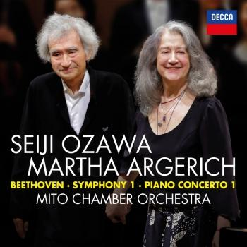 Cover Beethoven: Symphony No.1 in C; Piano Concerto No.1 in C (Live)