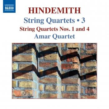 Cover Hindemith: String Quartets, Vol. 3
