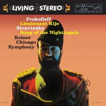 Cover Prokofiev: Lieutenant Kije / Stravinsky: Song Of The Nightingale (Remastered)