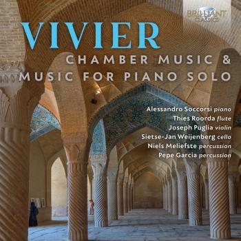 Cover Vivier: Chamber Music & Music for Piano Solo