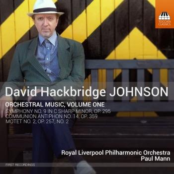Cover David Hackbridge Johnson: Orchestral Works, Vol. 1
