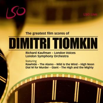 Cover Dimitri Tiomkin: The Greatest Film Scores
